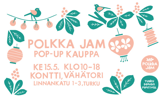 Pop-up shop at Turku Design Festival!
